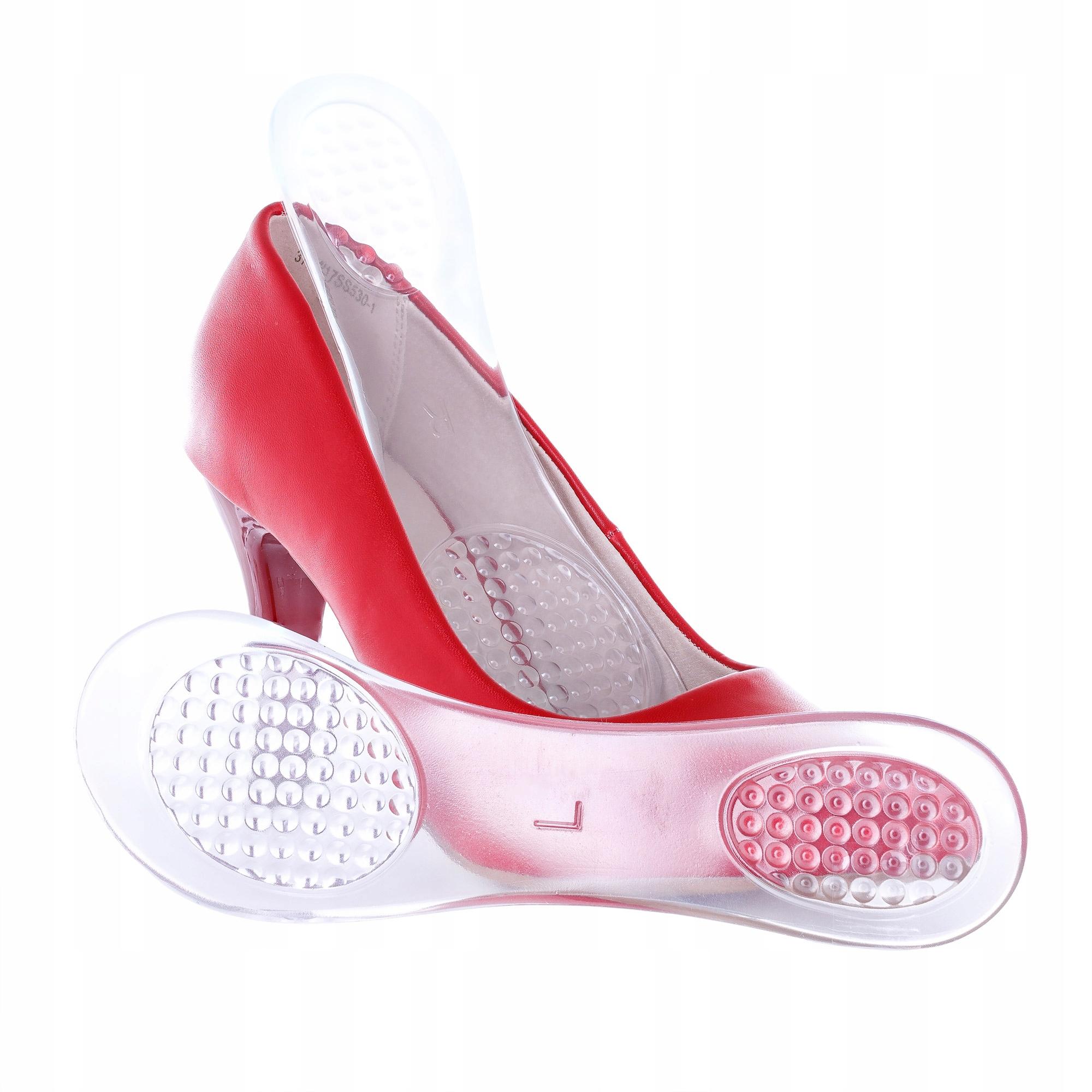 Гелевые стельки для обуви на шпильке на высоком каблуке