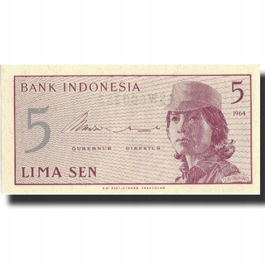 Банкнота, Индонезия, 5 сен, 1961, 1961, KM: 91a, UNC