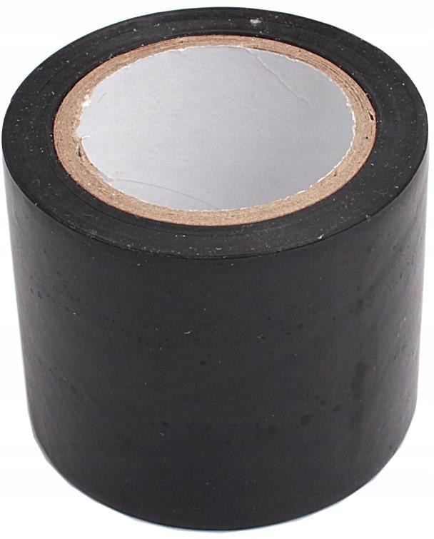 Лента изоляционная ПВХ 50 мм 10 м черная широкая