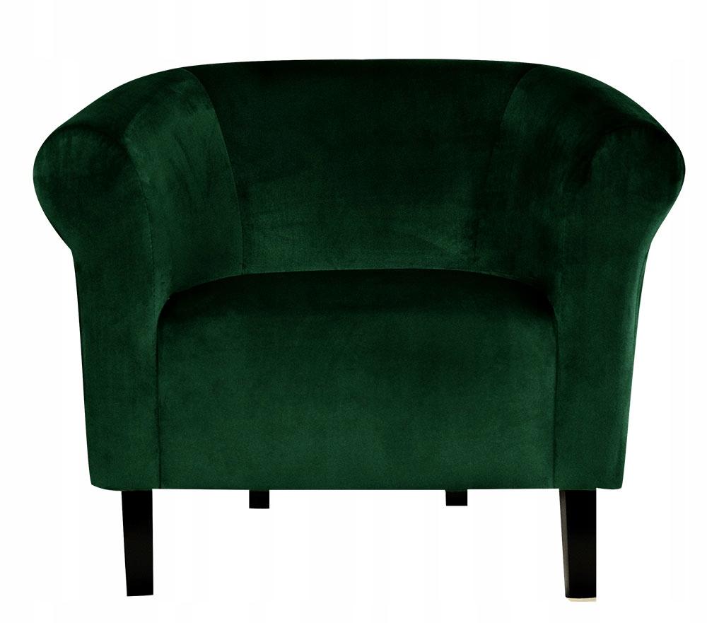 Кресло клубный Monaco плюш Бутылку Зелень Pub для