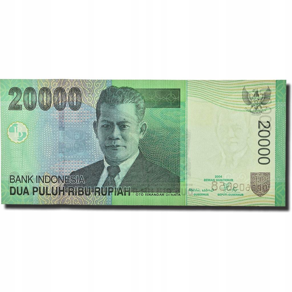 Банкнота, Индонезия, 20 000 рупий, 2004 г., КМ: 144a,