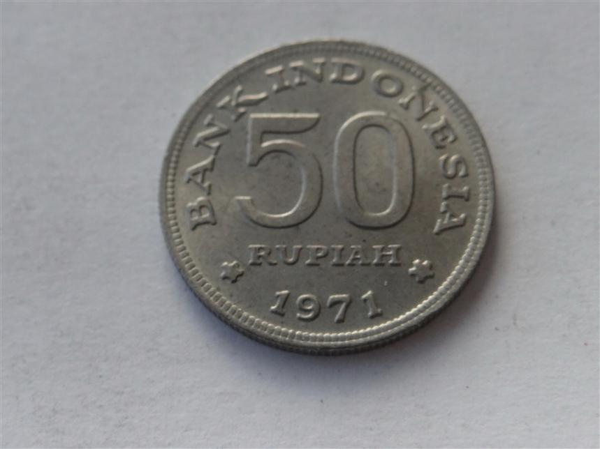 [5582] Indonezja 50 rupii 1971 r. st. 2
