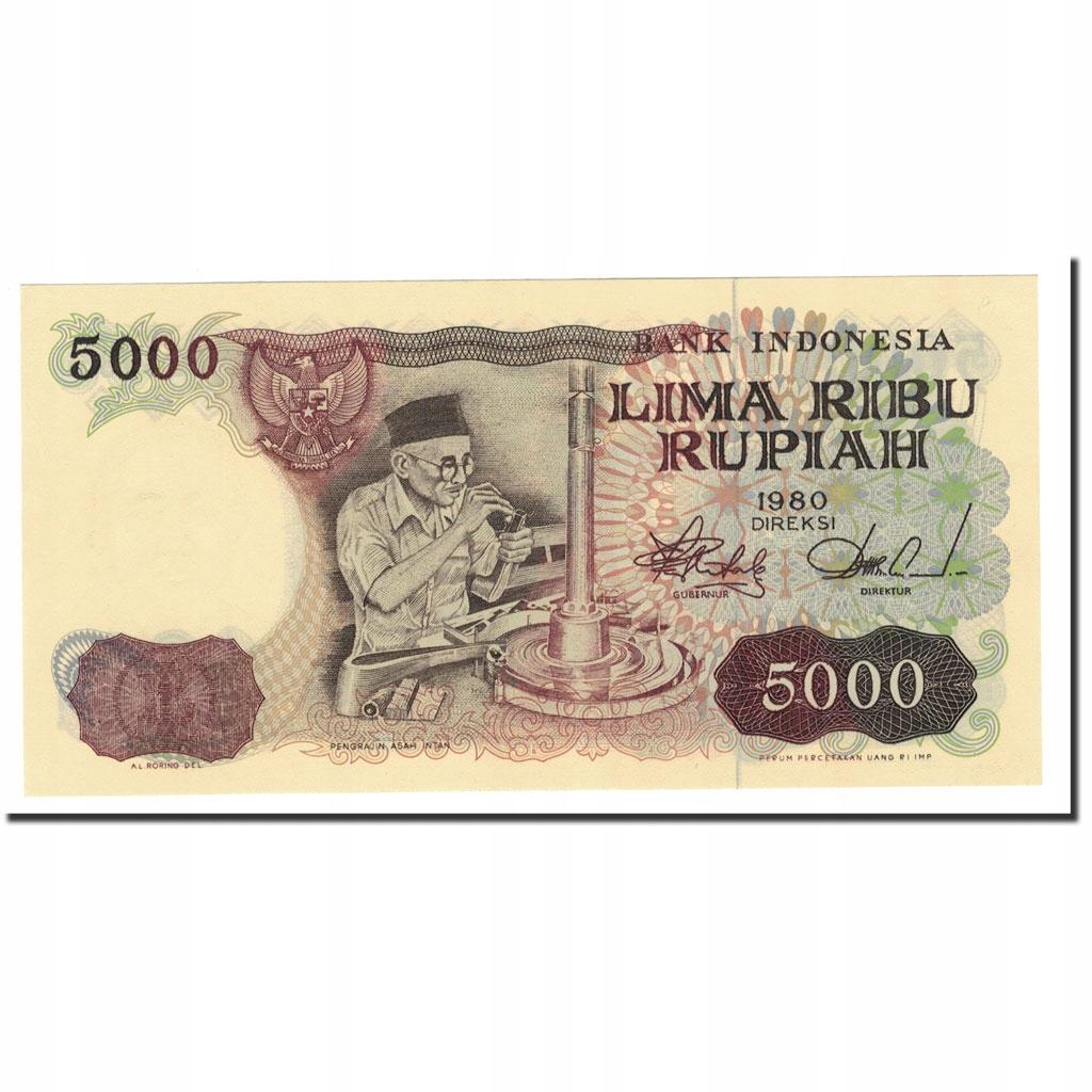 Банкнота, Индонезия, 5000 рупий, 1980, КМ: 120A, ООН