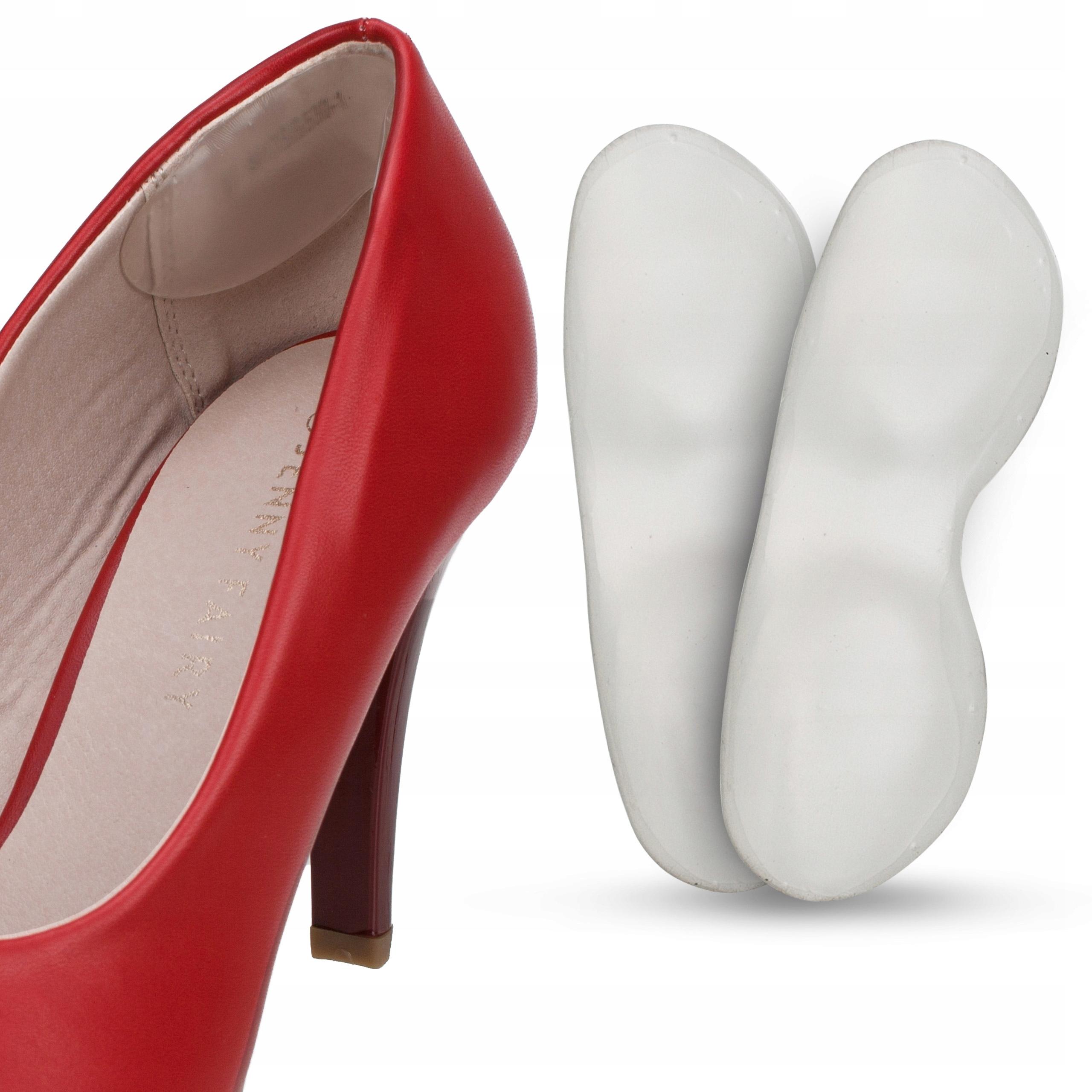 Гелевые zapiętki для обуви амортизирующие 5 мм толщина