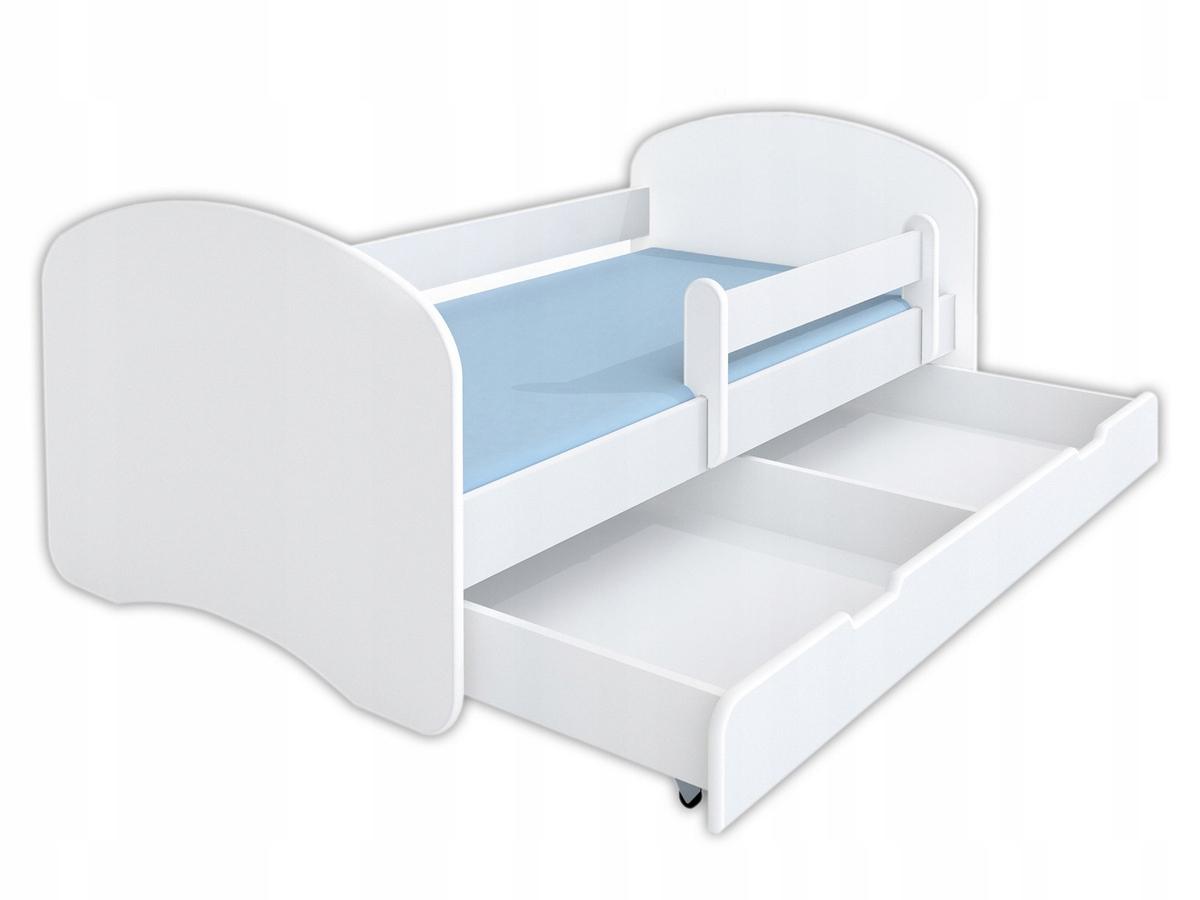 Купить Детская кровать HAPPY 140x70 + ящик и матрас на Otpravka - цены и фото - доставка из Польши и стран Европы в Украину.