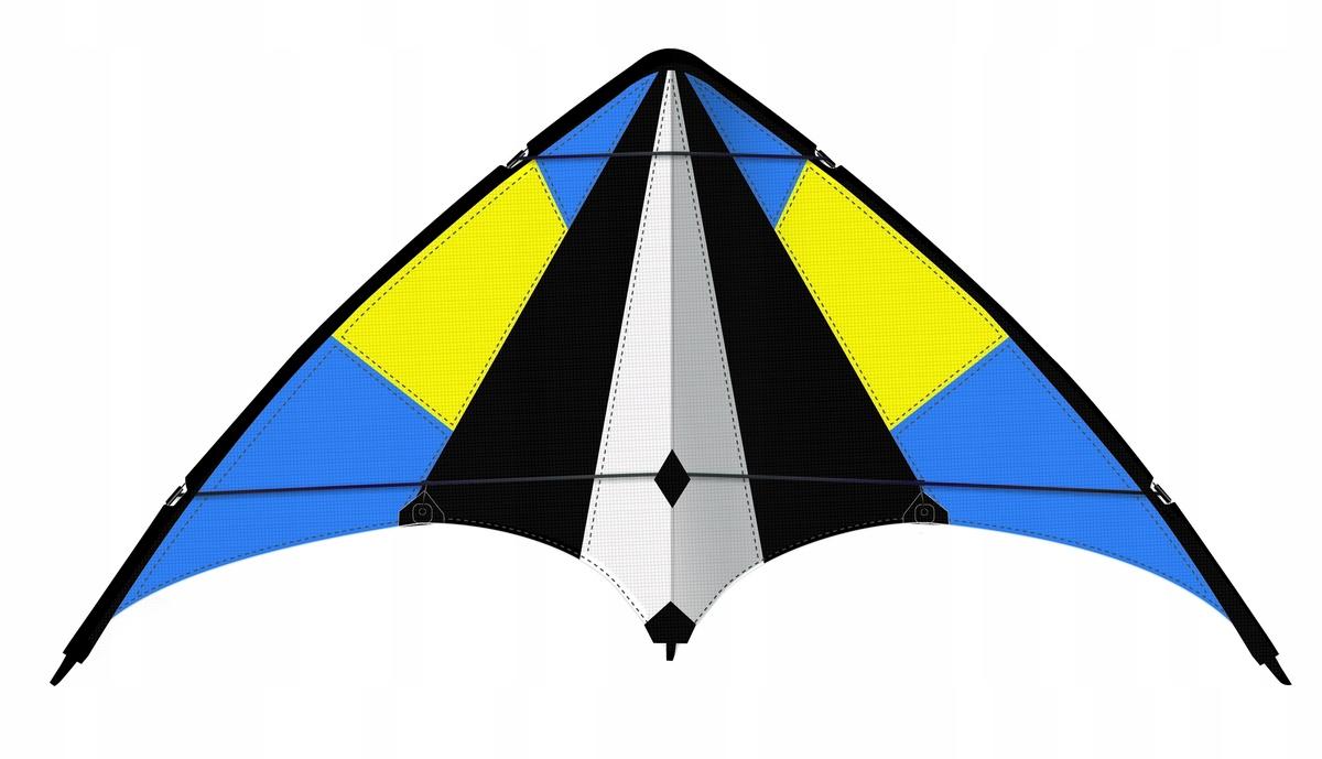 КАЙТ мацей пилотажная SKYMOVE 160x69cm для ЧЕМОДАНА