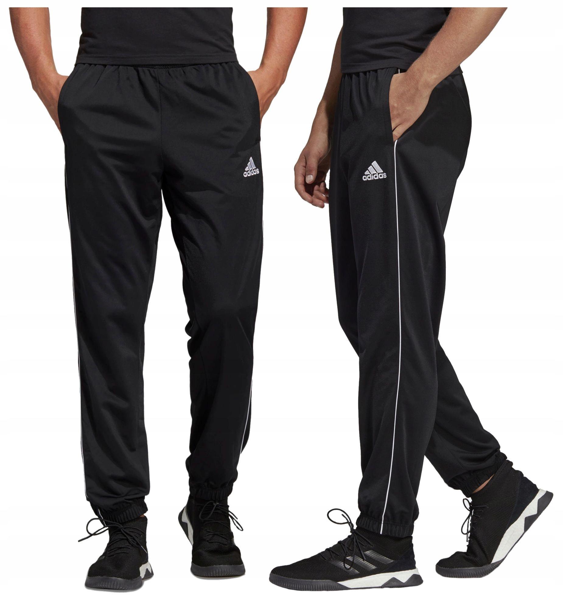 spodnie dresowe męskie adidas do biegania