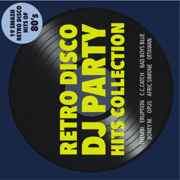 RETRO DJ, DISCO PARTY HIT REMIXY SKLADIEB VERZIA - CD TOP