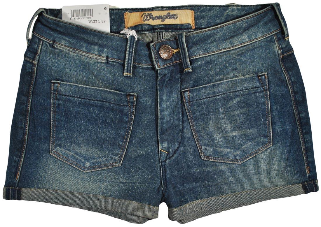 Wrangler spodenki Jeans blue high Joni Short W25