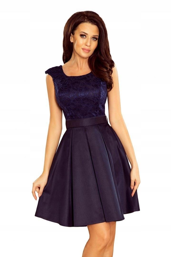 Elegancka wieczorowa Sukienka wesele 244-2 L 40