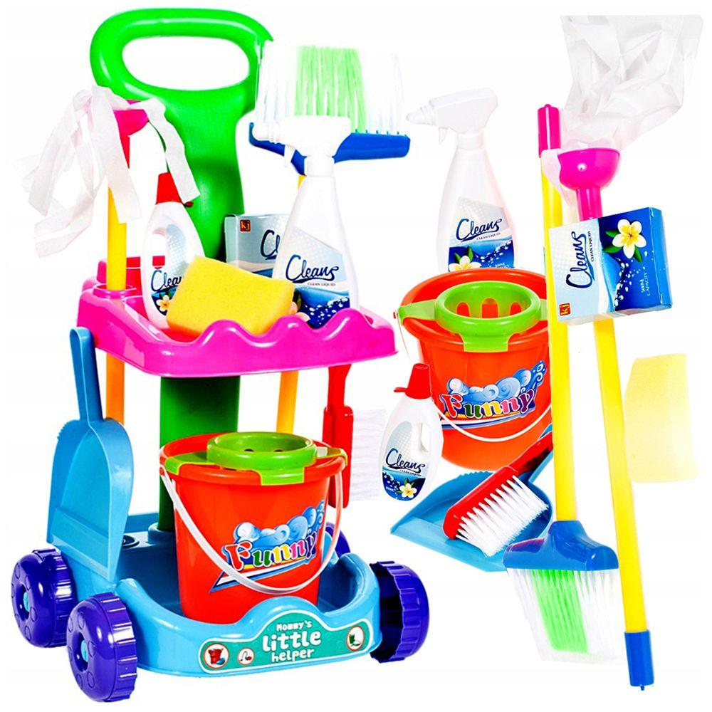 Zestaw do Sprzątania dla Dzieci Wózek Mop Y150