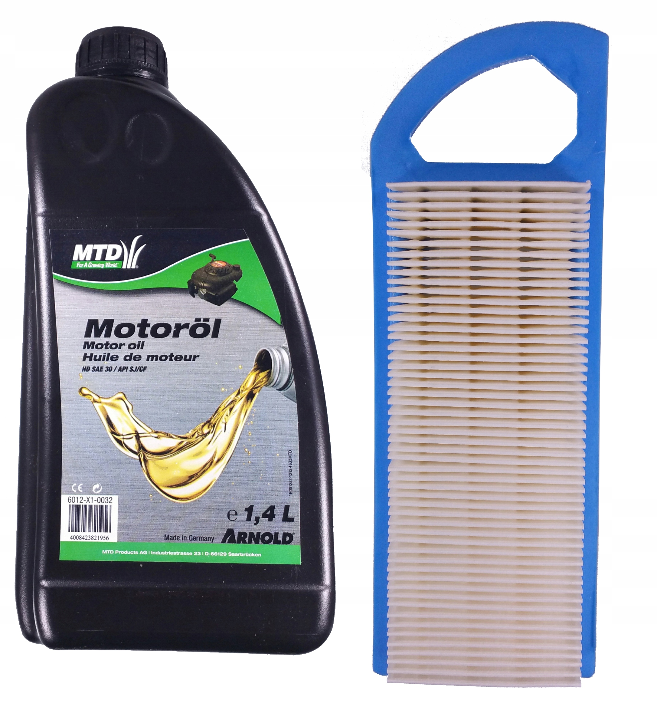 222x79 filter + olej 1.4 L motor BRIGGS STRATTO