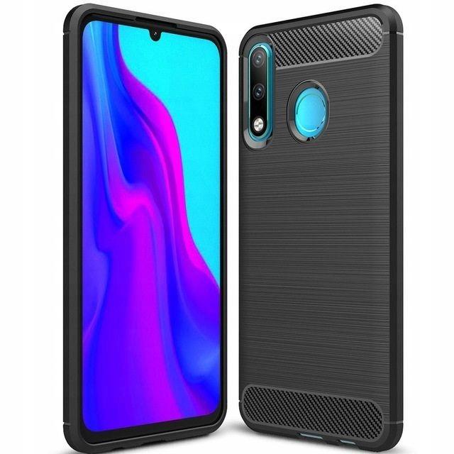 Huawei P30 Lite | etui Pancerne | Karbon Tpu Case