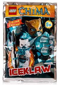 LEGO 391505 - CHIMA - ICEKLAW -ED.LIMIT .-- Nový!