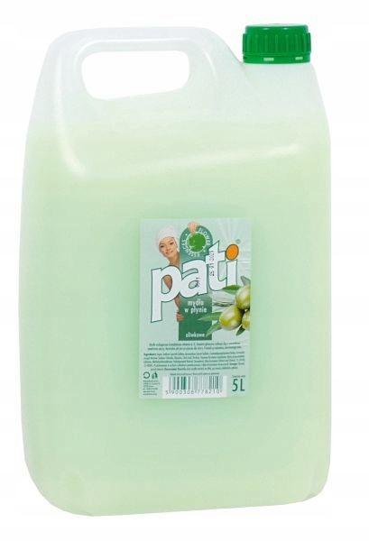 Жидкое мыло Пати оливковые 5 Л