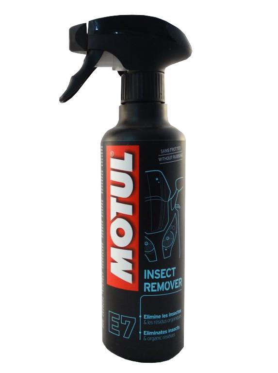 MOTUL для удаления насекомых INSECT REMOVER E7 очищает