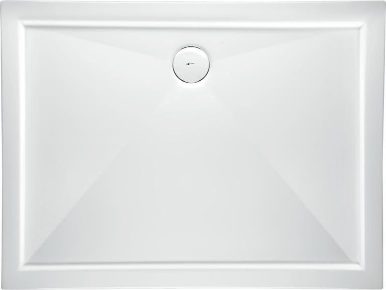 Goliath sprchová vanička obdĺžnikového tvaru 120x100x3x5,5 + sifón