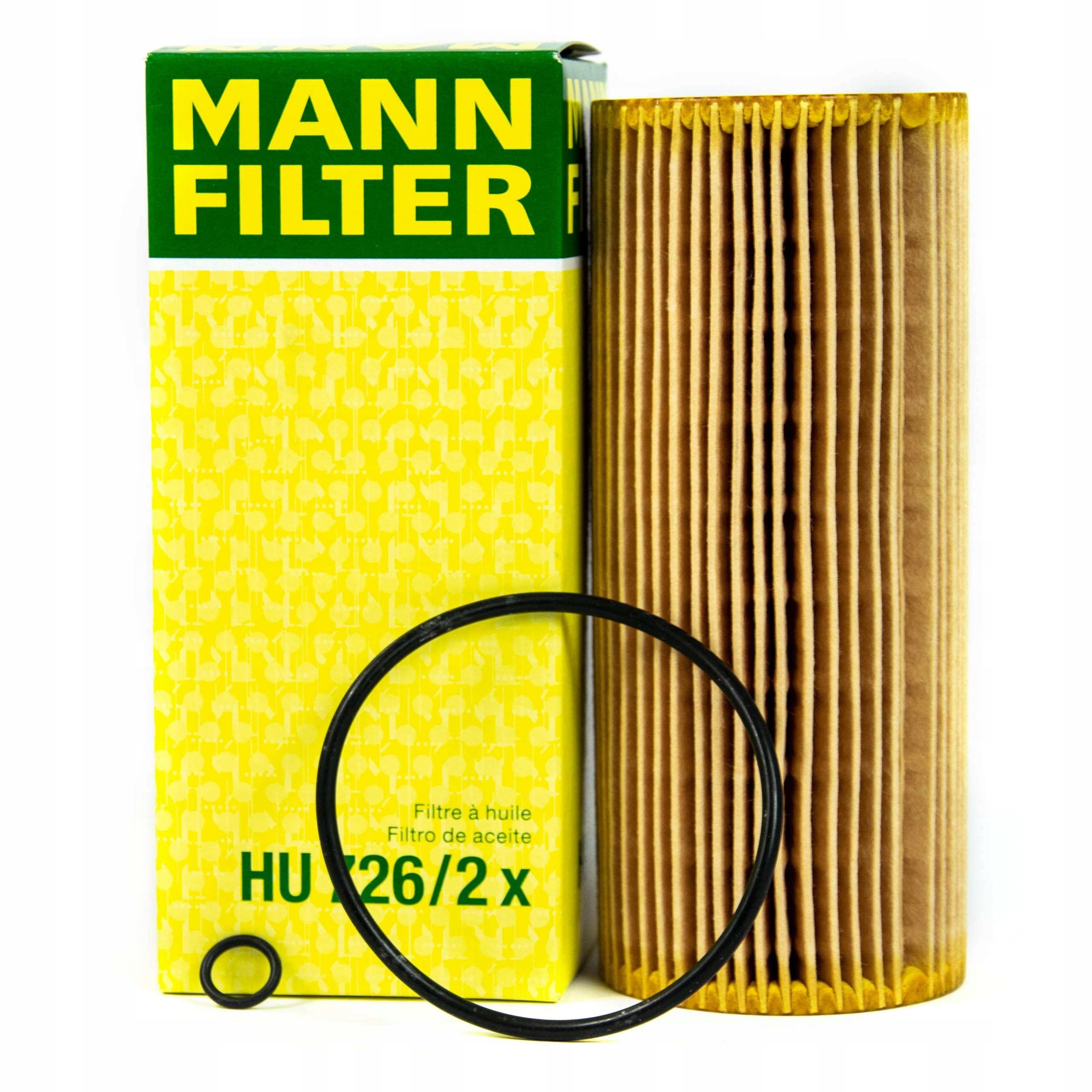 фильтр масла манн hu7262x к audi seat vw