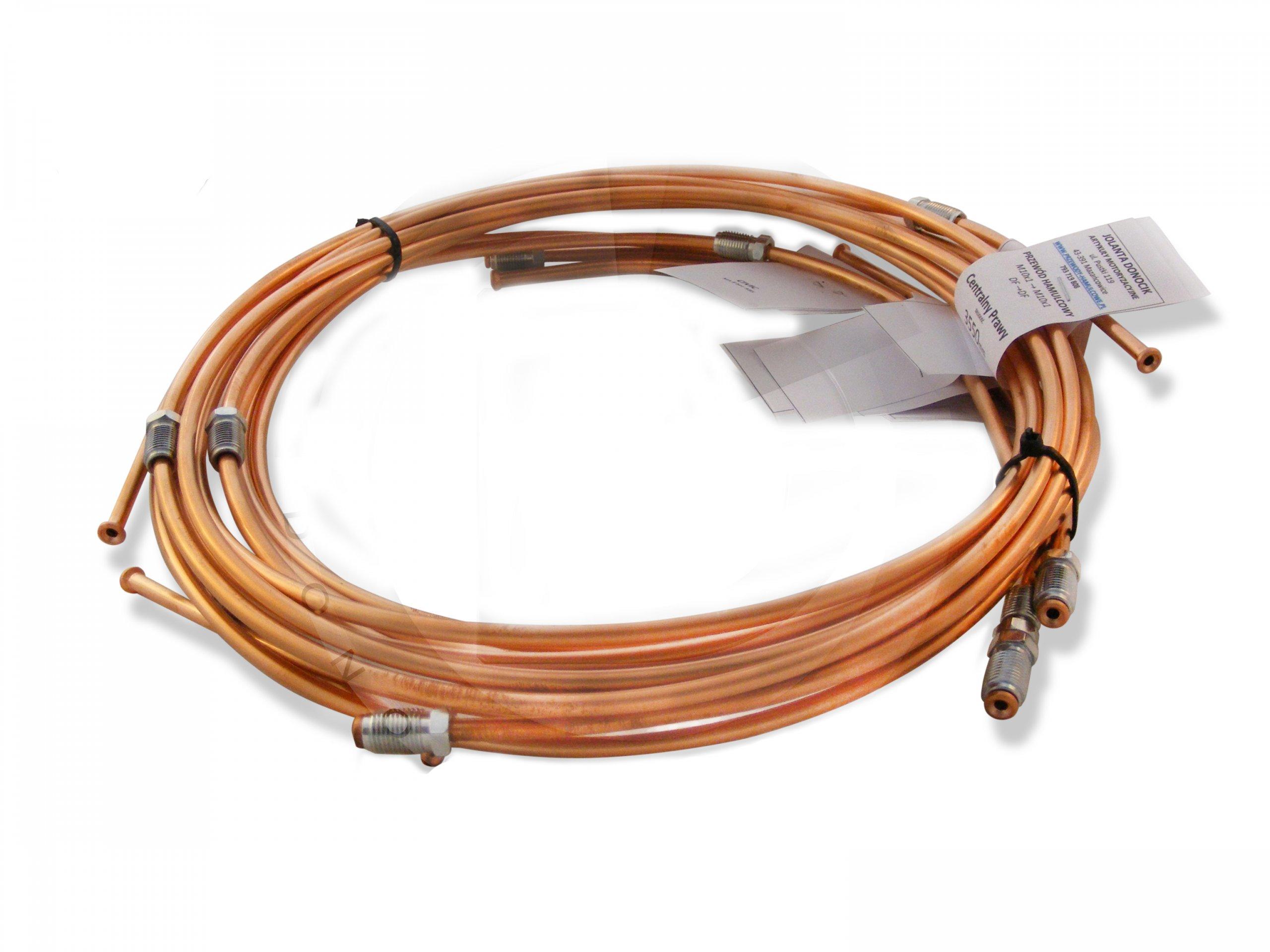 Masywnie Przewody hamulcowe sztywne + elastyczne Vectra B 6621713242 ZC35