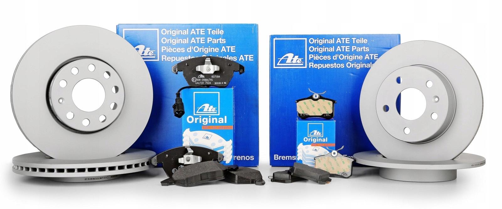 диски колодки ate p+t - audi a6 allroad c7 345330