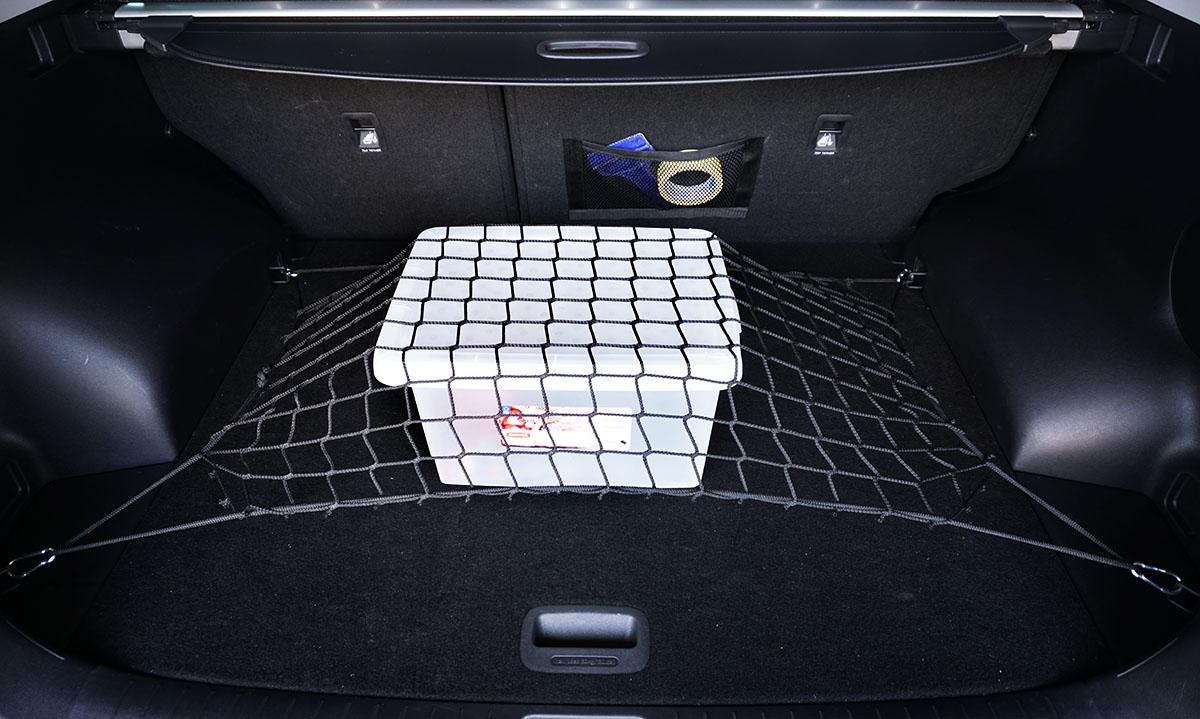 дополнение сетка в багажник авто фото троих