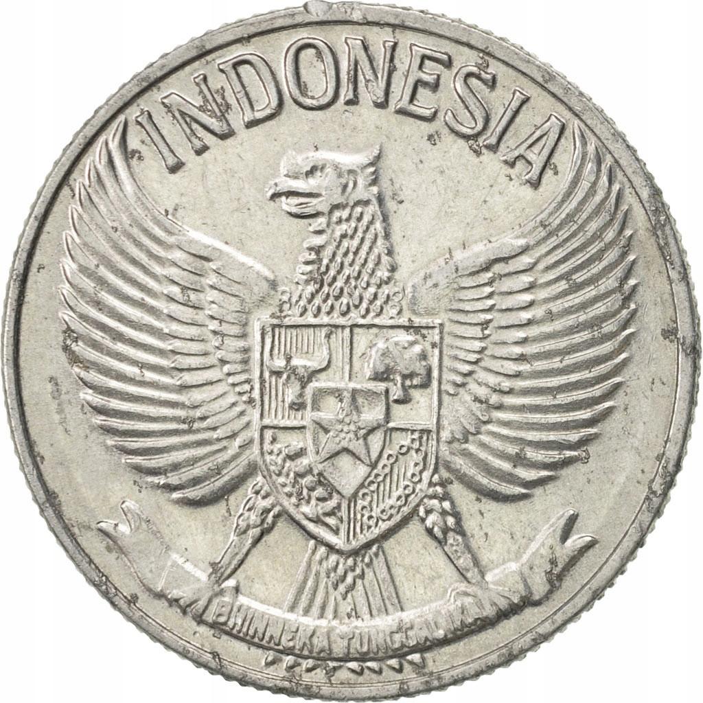 Монета, Индонезия, 50 сен, 1961, AU (50-53), Alumin