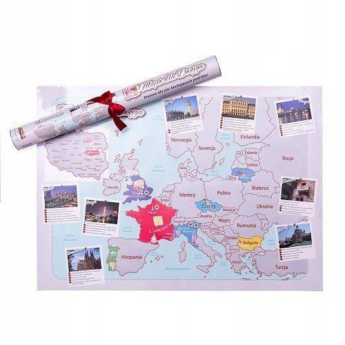 Купить КАРТА СКРЕТЧКАРТА ДЛЯ ДВОИХ ДЛЯ ПАР ЛЮБЯЩИХ ПУТЕШЕСТВИЯ на Eurozakup - цены и фото - доставка из Польши и стран Европы в Украину.