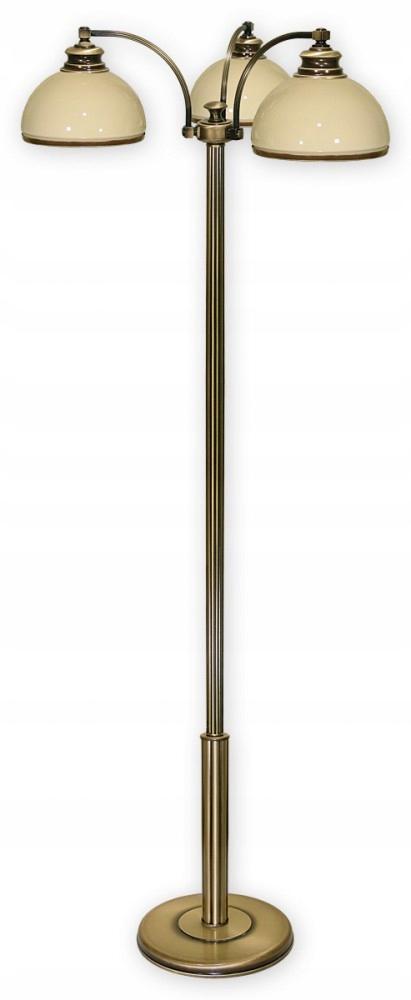 OLYMPUS lampa 3x60W patinou LEMIR 269/L3