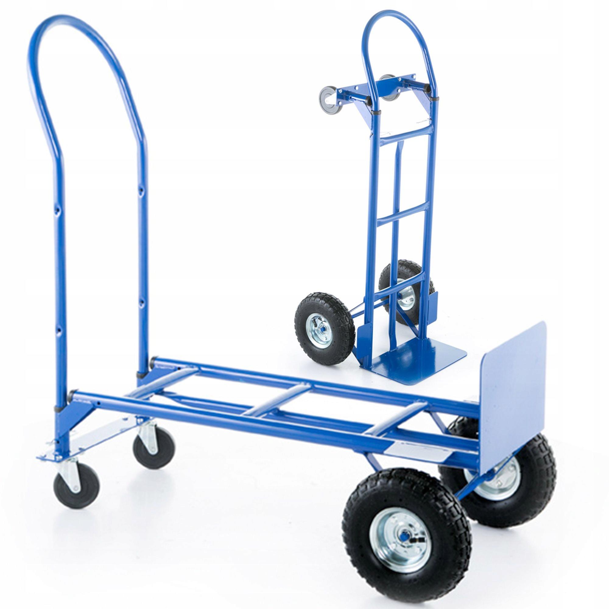 Wózek magazynowy młynarka 2w1 transportowy 250kg