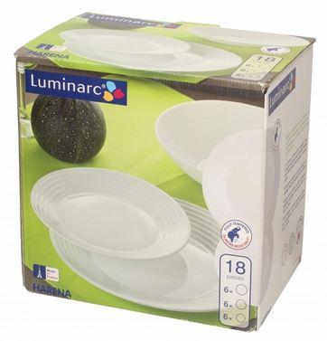 06466 Luminarc Harena Service Dinnerware Set 18 EL