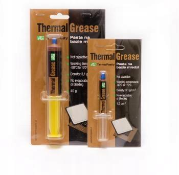 паста теплообмена медной Thermal Grease