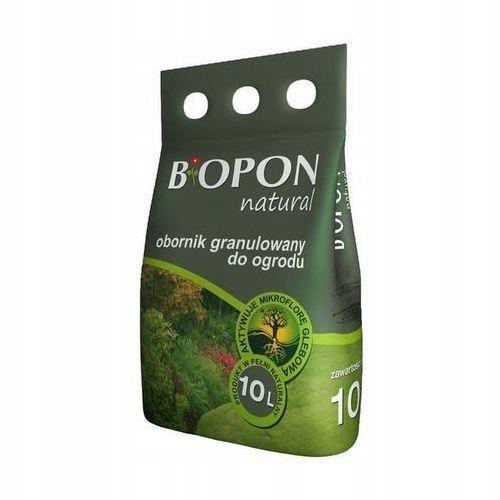 NAWÓZ OBORNIK GRANULOWANY DO OGRODU Biopon 10 kg