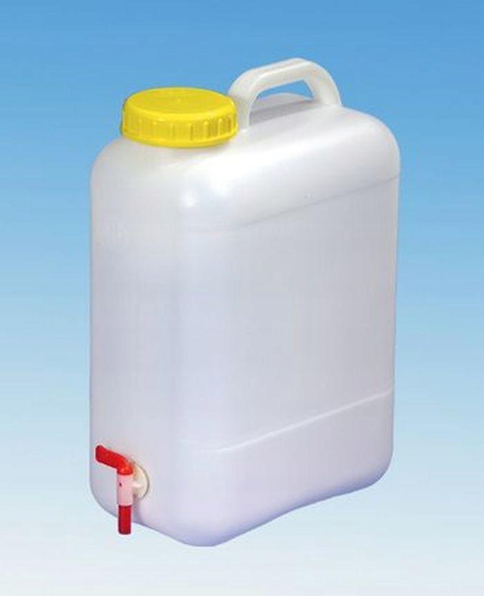 Nádrž na pitnú vodu s kohútik široký wlew96 16 L
