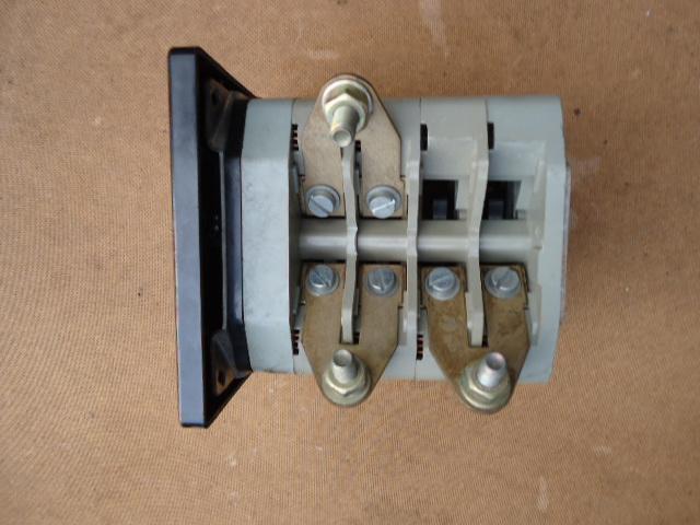 VEB EAW DDR prúdový istič. PLN 246 F / DPH