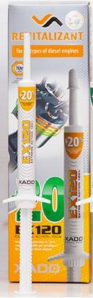 Xado EX120 Rewitalizant двигатель Дизель 8мл XA12034