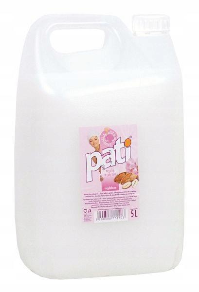 Жидкое мыло Пати миндальное 5 Л
