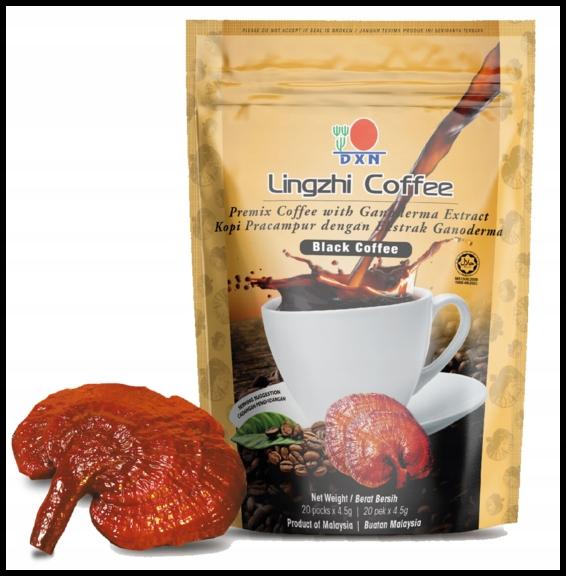 DXN Lingzhi Black Coffee čierna káva s Ganoderma