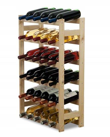 Стеллаж для вина RW-1-30 Стеллаж для бутылок деревянный