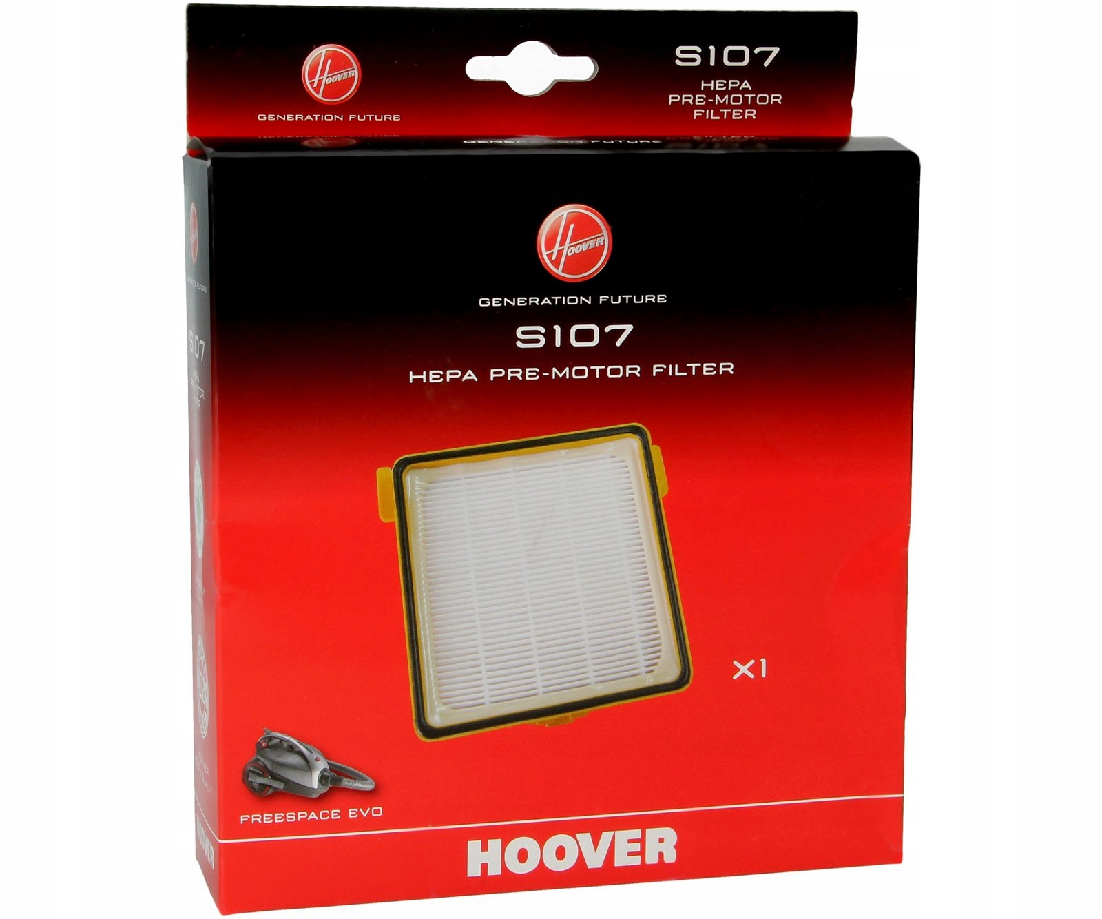 FILTER HOOVER S107 pre vysávač FREESPACE EVO