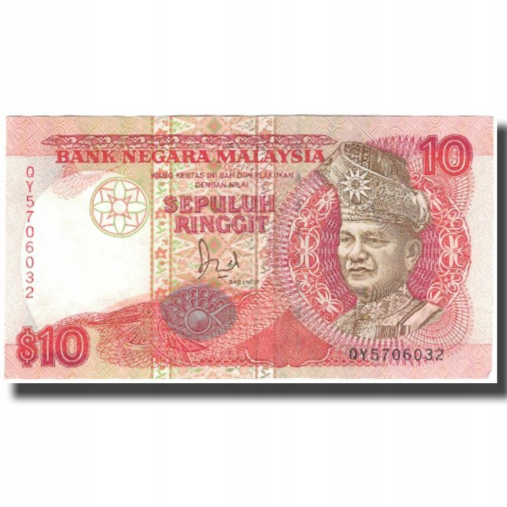 Банкнота, Малайзия, 10 ринггит, KM: 29, AU (50-53)