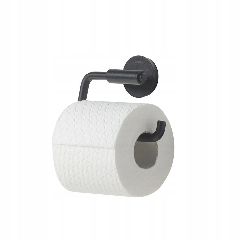 Držiak na toaletný papier Tiger Urban čierny