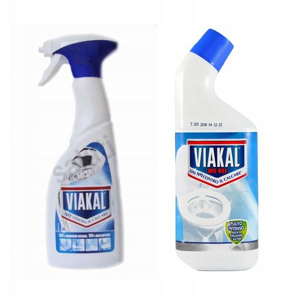 Набор Viakal Blu для удаления накипи и Wc Gel