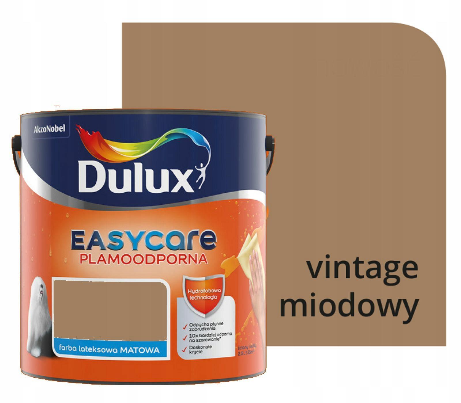 Dulux EasyCare 2.5 L VINTAGE MED Nové 2019!