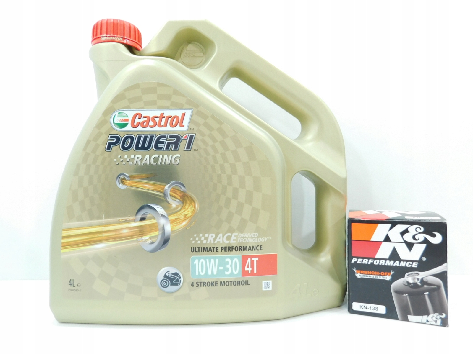 Picture of APRILIA 1100 V 4 R FILTER K&N + CASTROL 10W30