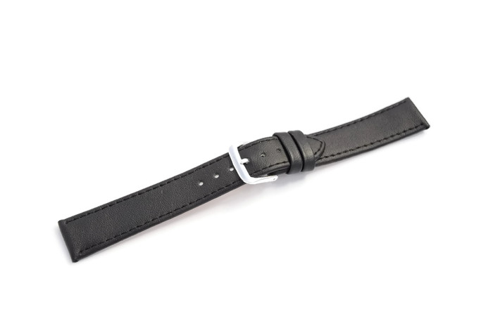 Item WATCH BAND 18 MM BLACK STANDARD SOFT