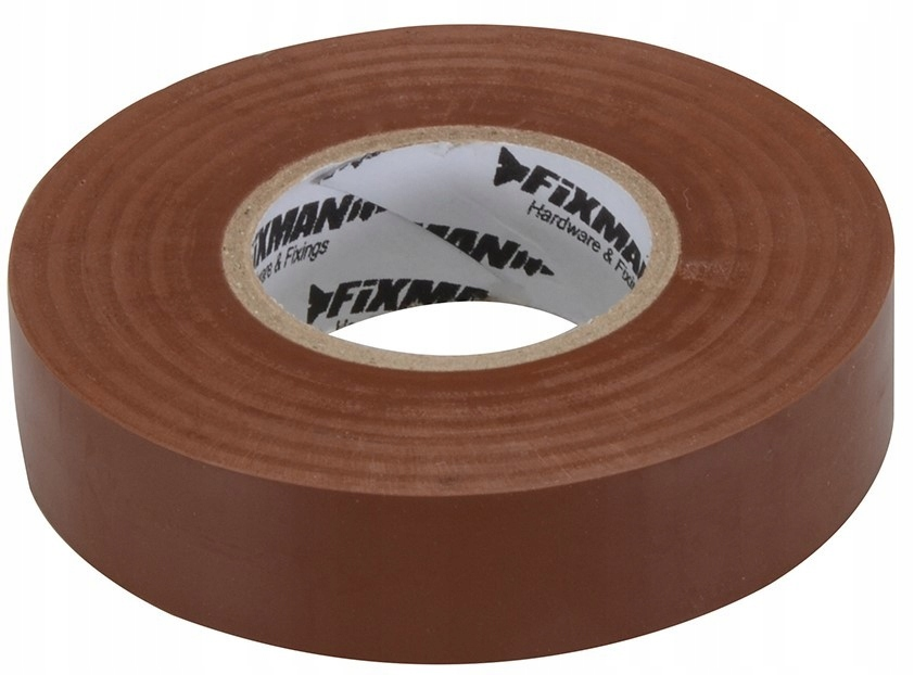 ПВХ ИЗОЛЯЦИЯ TAPE 19mm x 33m BROWN