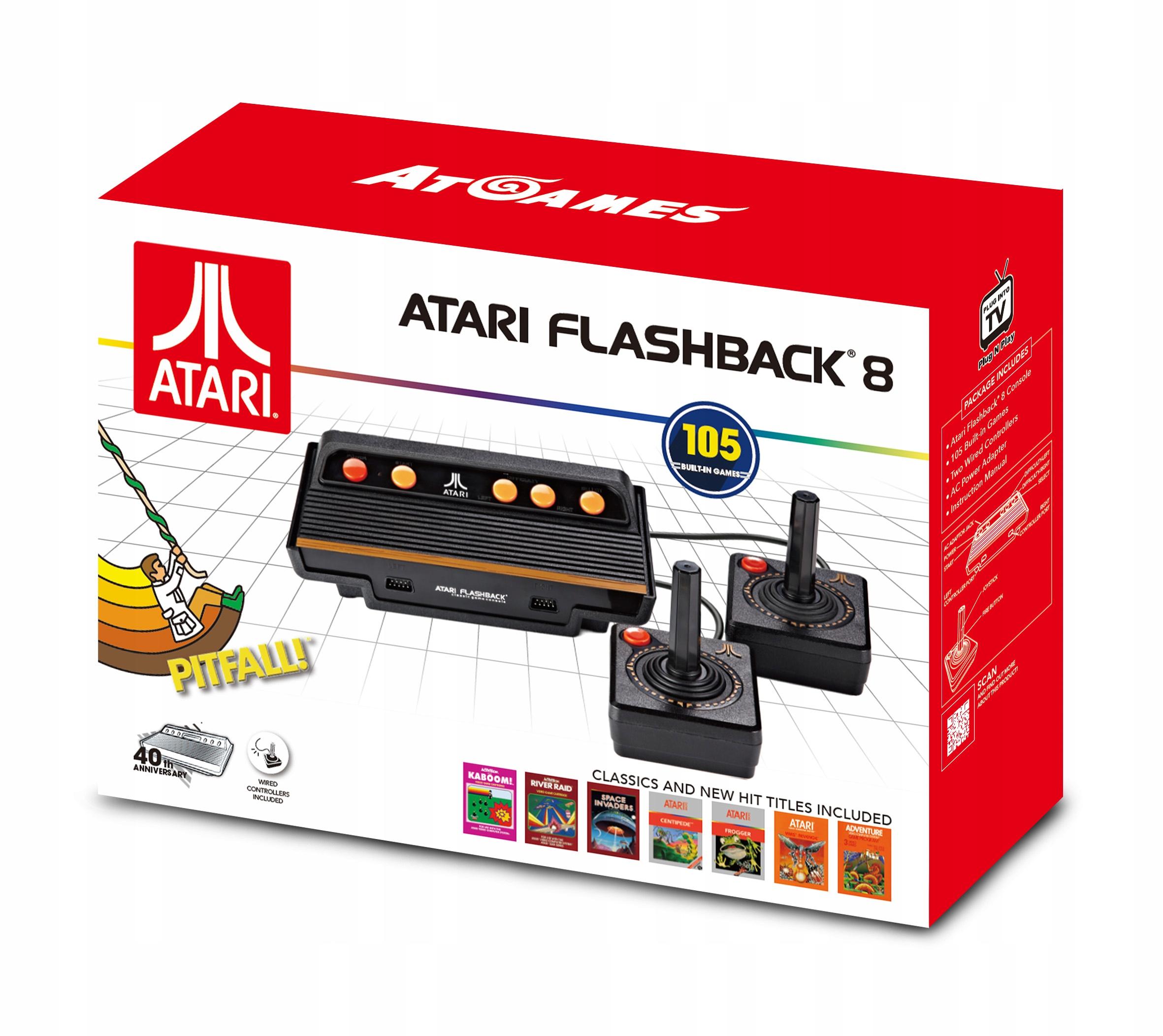 Item The ATARI Flashback 8 + 2 JOYSTICK + 105 Games
