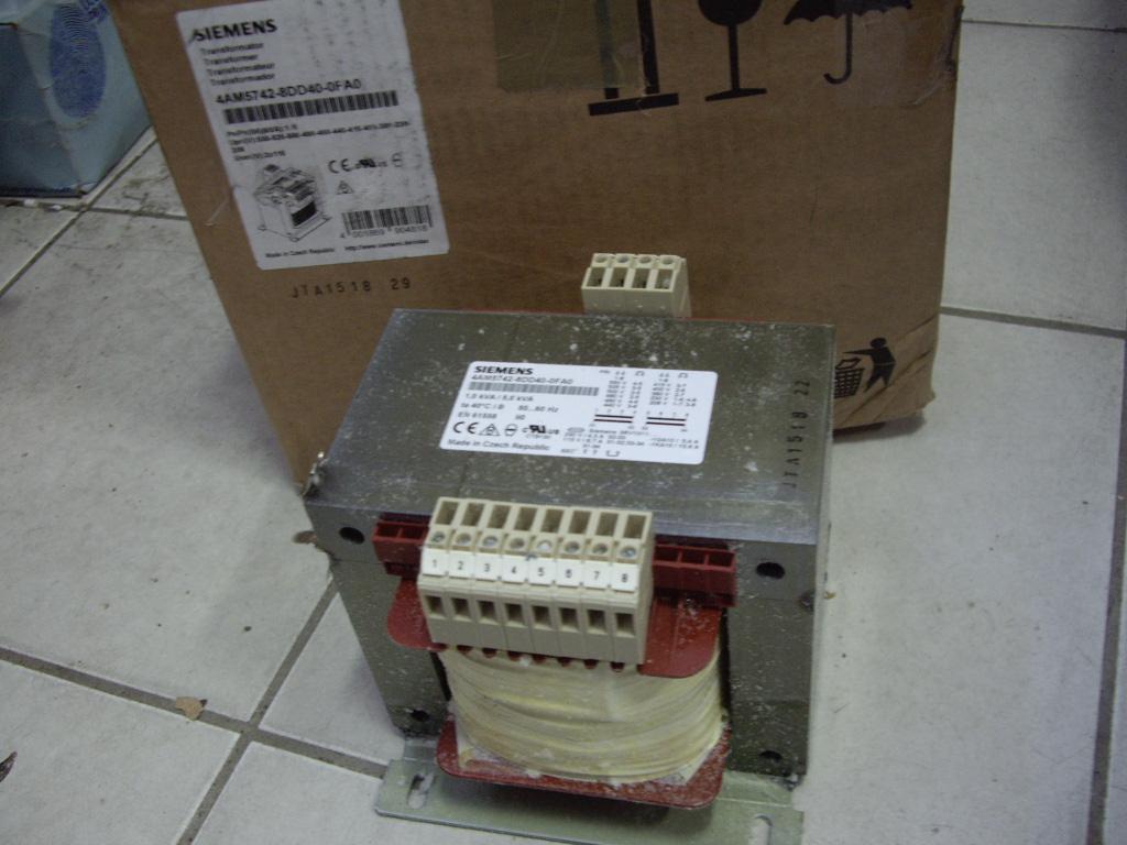Transformer Siemens SITAS 1KVA / 5KVA PN / PN (S6)