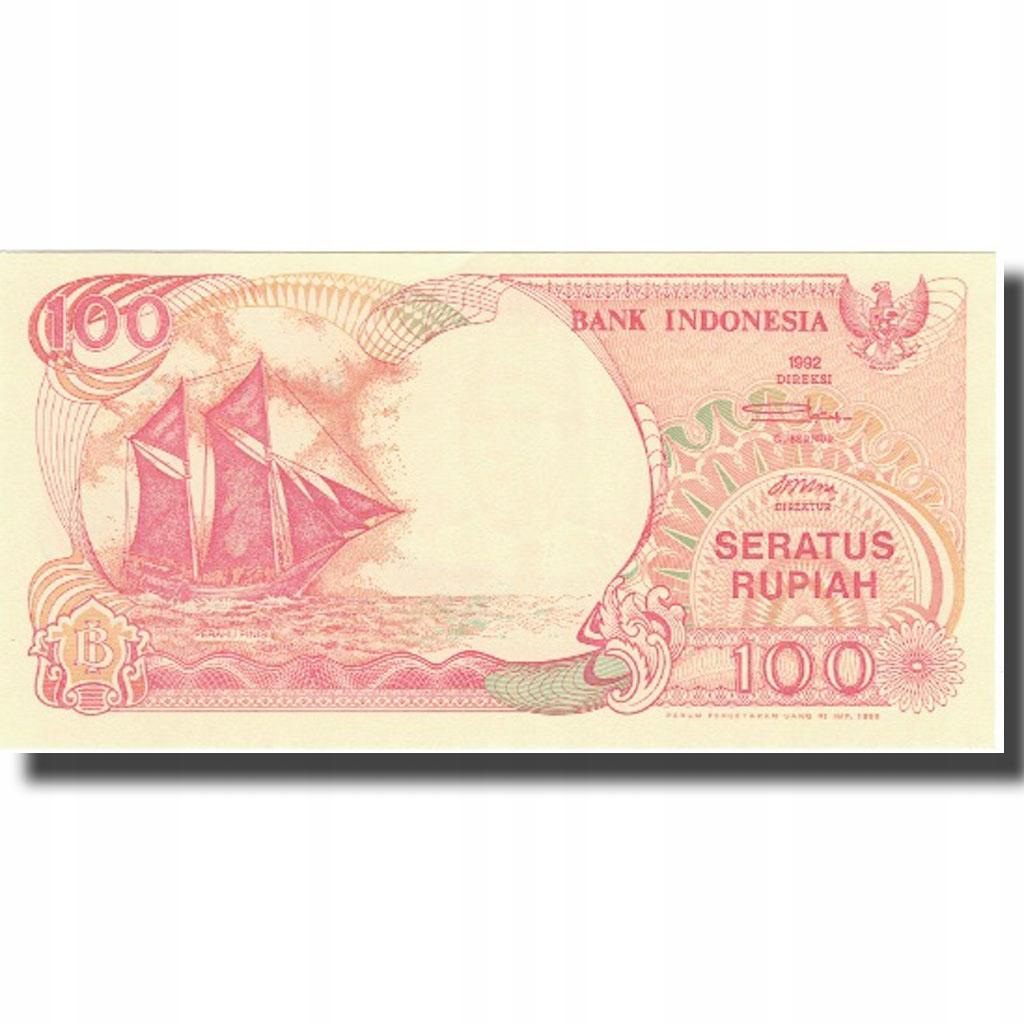 Банкнота, Индонезия, 100 рупий, 1992, 1992, КМ: 12