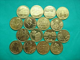Купить Набор из 2 злотых GN монет 2008 года - 16 шт. на Otpravka - цены и фото - доставка из Польши и стран Европы в Украину.